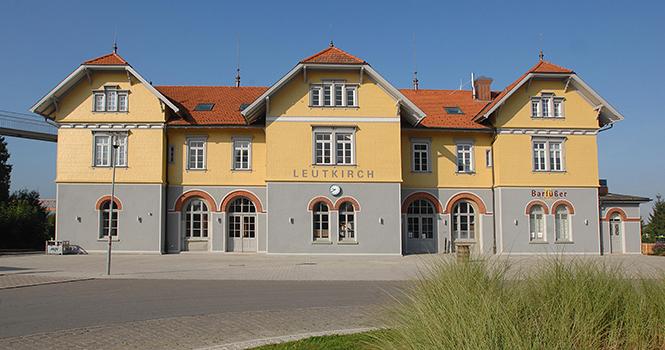 Bahnhof Leutkirch