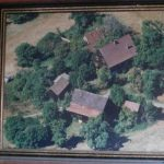 historische Luftaufnahme